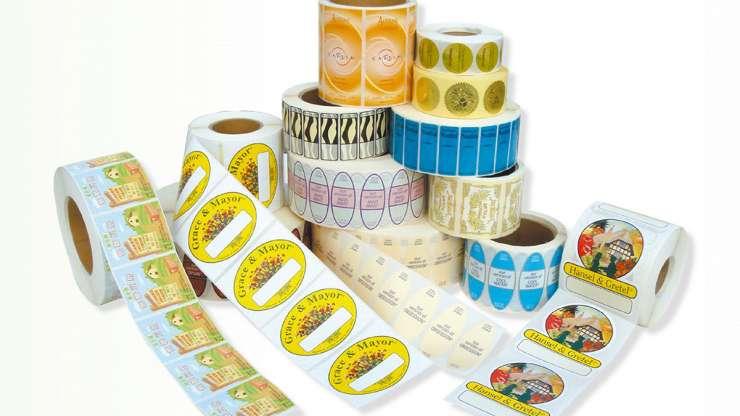 Tekercses roll címke gyártás különböző termékekre