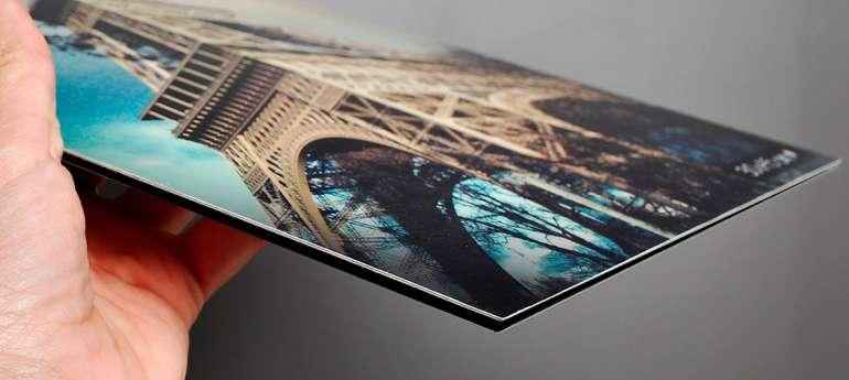Kis méretű fotó dibond táblára nyomtatva