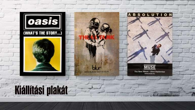 Kiállítási poszter, kiállítási plakát nyomtatás